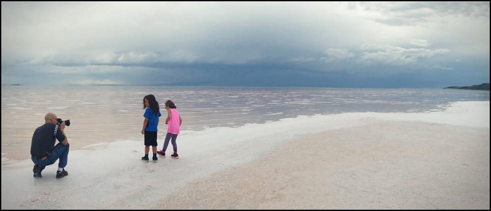 Salt Flats, Rozel Point, Great Salt Lake, Utah, 2015