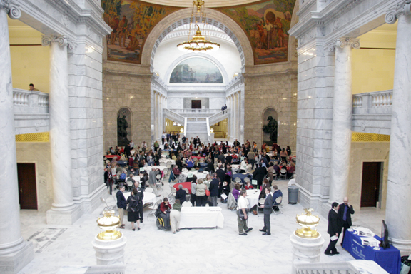 A Day at the Utah State Capitol